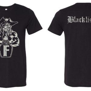 black blacklisted tee